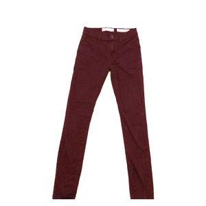 Maroon Bullhead Skinny Jeans